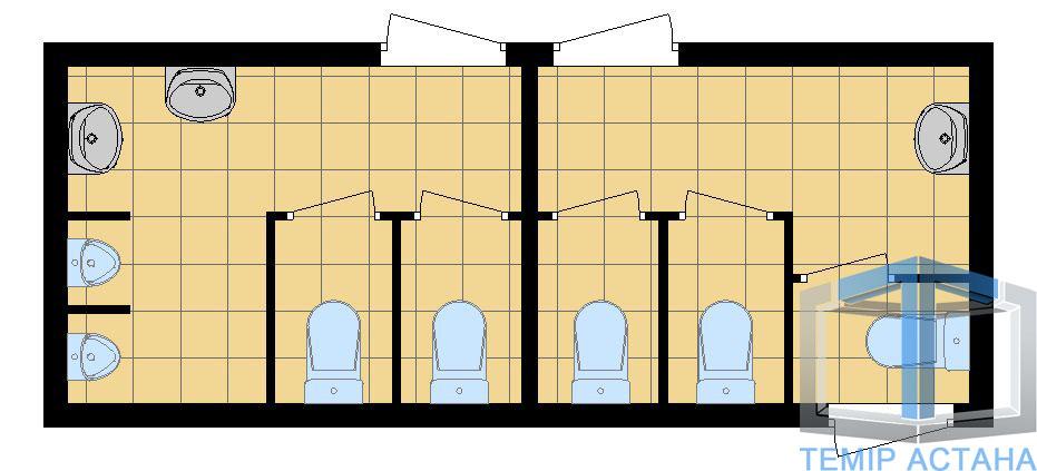 Блок-контейнеры - ТОО «Темiр Астана»