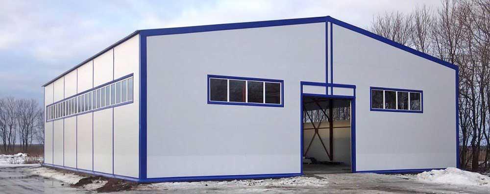 ЛСТК (Лёгкие стальные тонкостенные конструкции) ангары - ТОО «Темiр Астана»