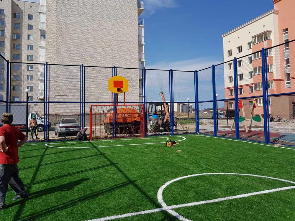 Спортивные площадки - ТОО «Темiр Астана»